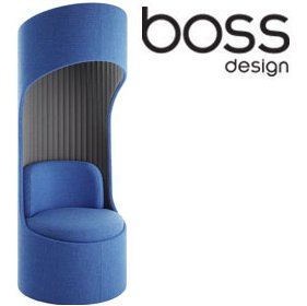 Boss Design Cega Acoustic Swivel Booth £1747 - Office Chairs