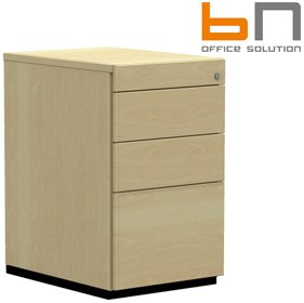 BN SQart Managerial Veneer 3 Drawer Desk High Pedestals £1032 - Office Desks