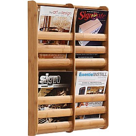 Bamboo Wall Mounted Literature Dispensers £112 - Display/Presentation
