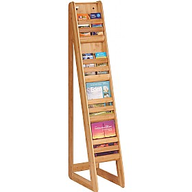 Bamboo Freestanding Literature Dispensers £313 - Display/Presentation