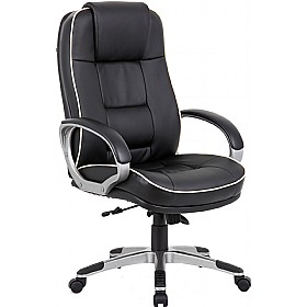 Erros Enviro Leather Faced Chair £161 - Office Chairs