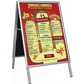 Busygrip® A-Frame Poster Frames £98 - Display/Presentation