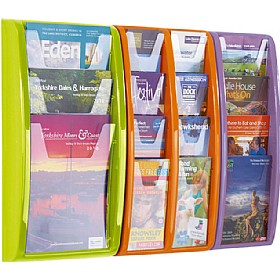 Panorama Wall Mounted Leaflet Dispensers £42 - Display/Presentation