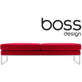 Boss Design Layla Landscape Two Seater Bench £868 - Reception Furniture