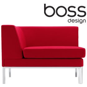 Boss Design Layla Landscape Corner Unit £746 - Reception Furniture