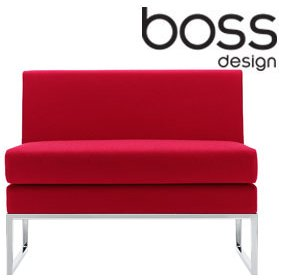 Boss Design Layla Landscape Bench Chair £704 - Reception Furniture
