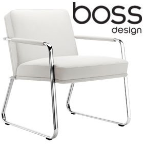 Boss Design Optima Armchair With Sled Base £810 - Office Chairs