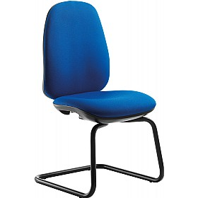 Tick High Back Cantilever Visitor Chair £165 - Office Chairs