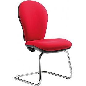 Urban High Back Cantilever Visitor Chair £165 - Office Chairs