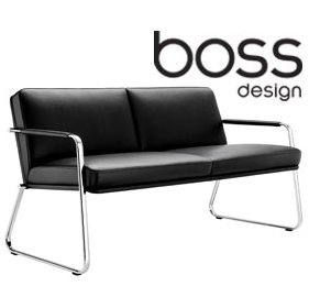 Boss Design Optima Two Seater Sofa £1268 - Reception Furniture