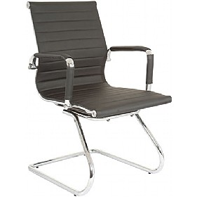 Sector Cantilever Enviro Leather Chair £115 - Office Chairs