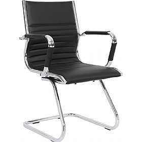 Explorer Cantilever Enviro Leather Chair £132 - Office Chairs