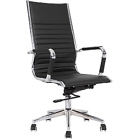 Explorer High Back Enviro Leather Chair £149 - Office Chairs