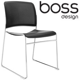 Boss Design Starr Skid Base Conference Chair £120 - Office Chairs