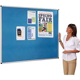 Eco Friendly Aluminium Framed Colourboard Noticeboards £52 - Display/Presentation