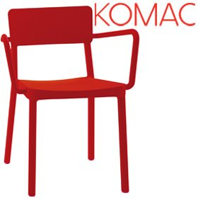 Komac Event 8 Polypropylene Armchair £119 - Office Chairs