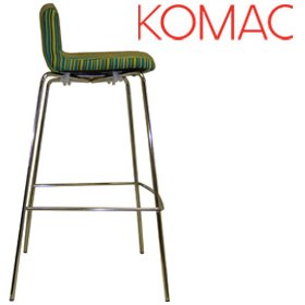 Komac Event 4 Tall Upholstered Bistro Chair £186 - Bistro Furniture