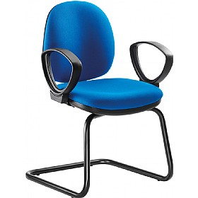 Goal Mid Back Cantilever Visitor Chair £119 - Office Chairs
