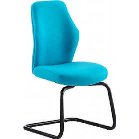 Flexion Mid Back Cantilever Visitor Chair £238 - Office Chairs