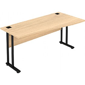 Elite Flexi Compact Wave Desks £256 - Office Desks