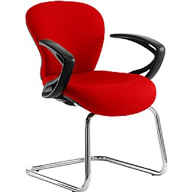 Sphere Mid Back Cantilever Visitor Chair £210 - Office Chairs