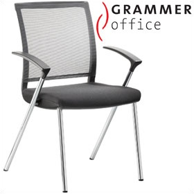 Grammer Office SAIL Fabric & Mesh Conference Chair £226 - Office Chairs