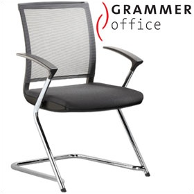 Grammer Office SAIL Fabric & Mesh Cantilever Conference Chair £262 - Office Chairs