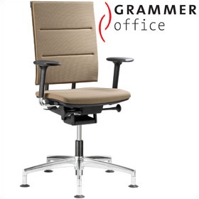 Grammer Office SAIL Fabric & Mesh Swivel Conference Chair £351 - Office Chairs