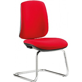 Fusion High Back Cantilever Visitor Chair £170 - Office Chairs