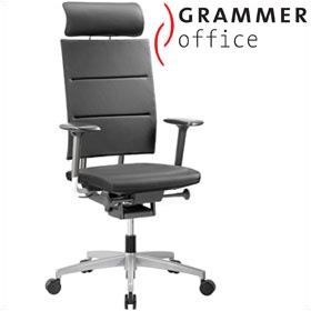 Grammer Office SAIL Leather & Mesh Executive Chair £342 - Office Chairs