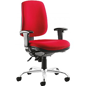 Fusion Heavy Duty Operator Chair £344 - Office Chairs
