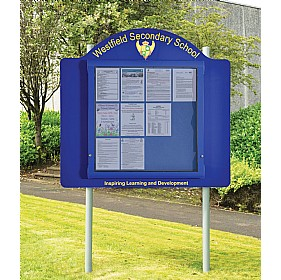 WeatherShield Freestanding Outdoor Signage £863 - Display/Presentation