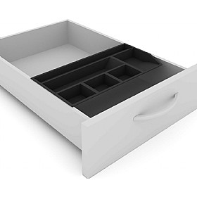Elite Flexi Standard Pedestal Stationery Tray £15 - Office Desks