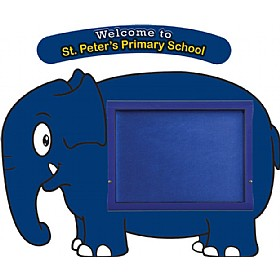 WeatherShield Nursery / Primary Welcome Sign - Elephant £369 - Display/Presentation