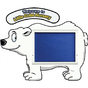 WeatherShield Nursery / Primary Welcome Sign - Polar Bear £369 - Display/Presentation