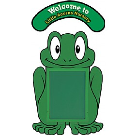 WeatherShield Nursery / Primary Welcome Sign - Frog £369 - Display/Presentation