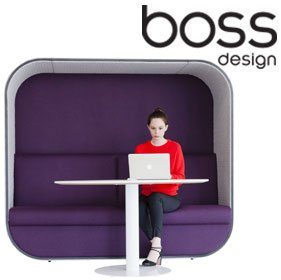 Boss Design Cocoon Acoustic Pod £3605 - Office Chairs