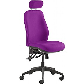 Re-Act Deluxe High Back Task Chair With Headrest £289 - Office Chairs