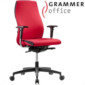 Grammer Office Solution Fabric High Back Operator Chair £308 - Office Chairs