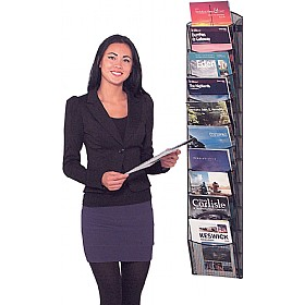 Mesh Wall Mounted Literature Dispenser £74 - Display/Presentation
