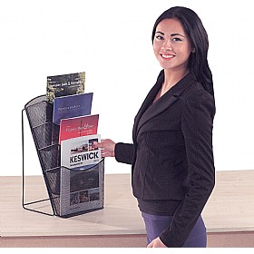 Mesh Desktop Leaflet Dispensers £15 - Display/Presentation