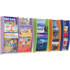 Wall Mounted Colourama Leaflet Dispenser £50 - Display/Presentation