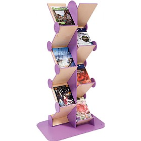 Colourama Zig Zag Book Display £312 - Education Furniture