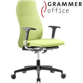 Grammer Office Solution Textile Mesh High Back Operator Chair £288 - Office Chairs