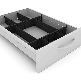 Elite Flexi System Pedestal Drawer Divider Kit £19 - Office Desks