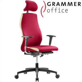 Grammer Office Solution Microfibre Executive Chair With Headrest £620 - Office Chairs