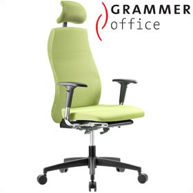 Grammer Office Solution Textile Mesh Executive Chair With Headrest £631 - Office Chairs