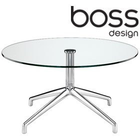 Boss Design Kruze Glass Coffee Table £406 - Reception Furniture