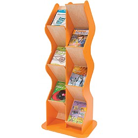 Colourama Curve A4 Book Display £0 - Education Furniture