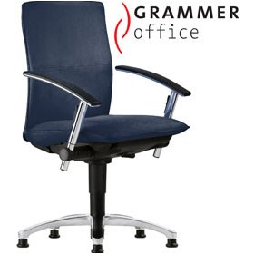 Grammer Office Tiger UP Medium Back Fabric Swivel Conference Chair £417 - Office Chairs